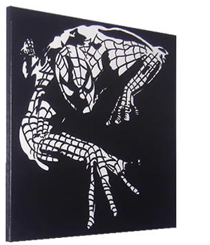 Spiderman Pop Art Painting